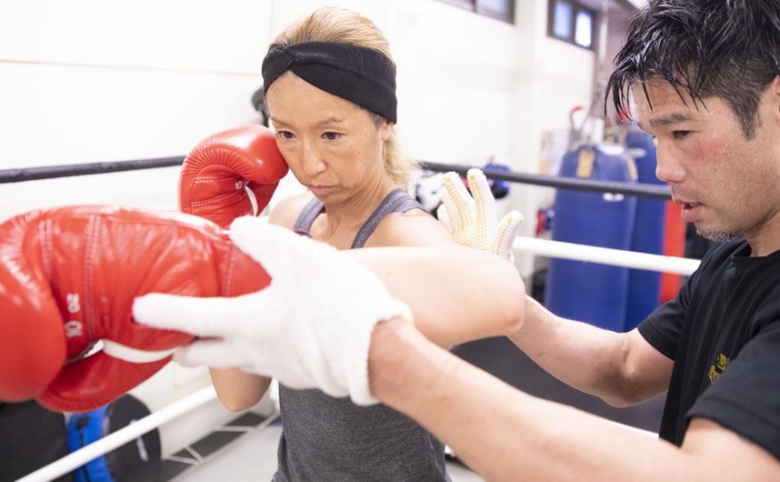 ダイエット目的ではじめたボクシング楽しくやれるからずっと続けられます